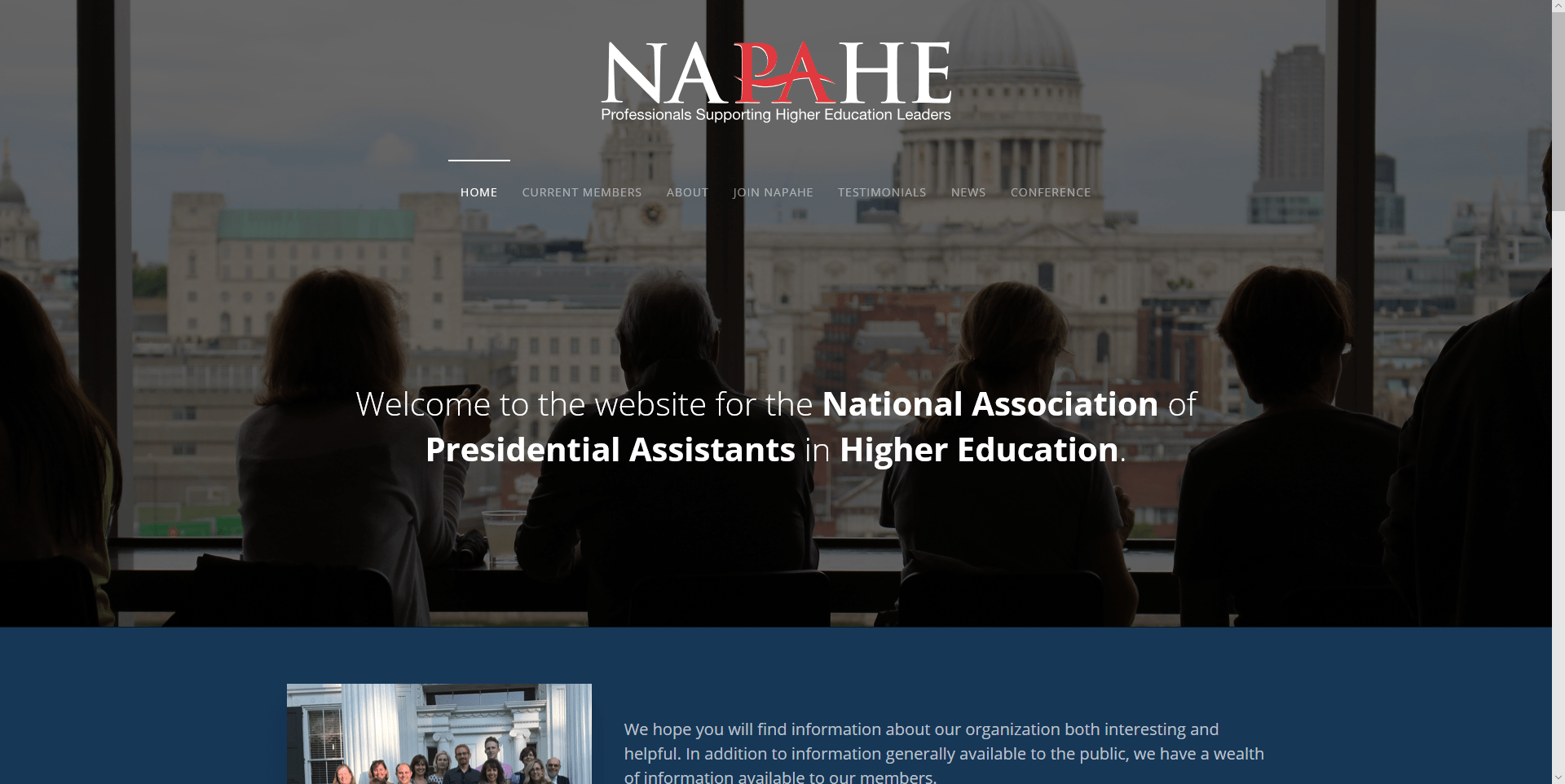 National Association of Presidential Assistants in Higher Education