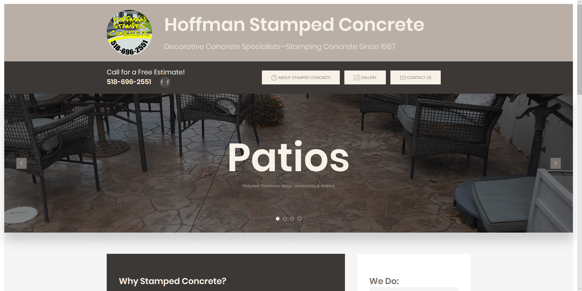 Hoffman Stamped Concrete