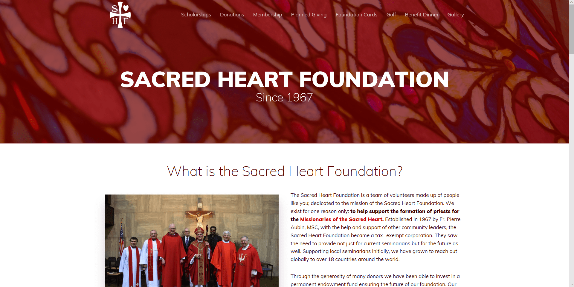 Sacred Heart Foundation