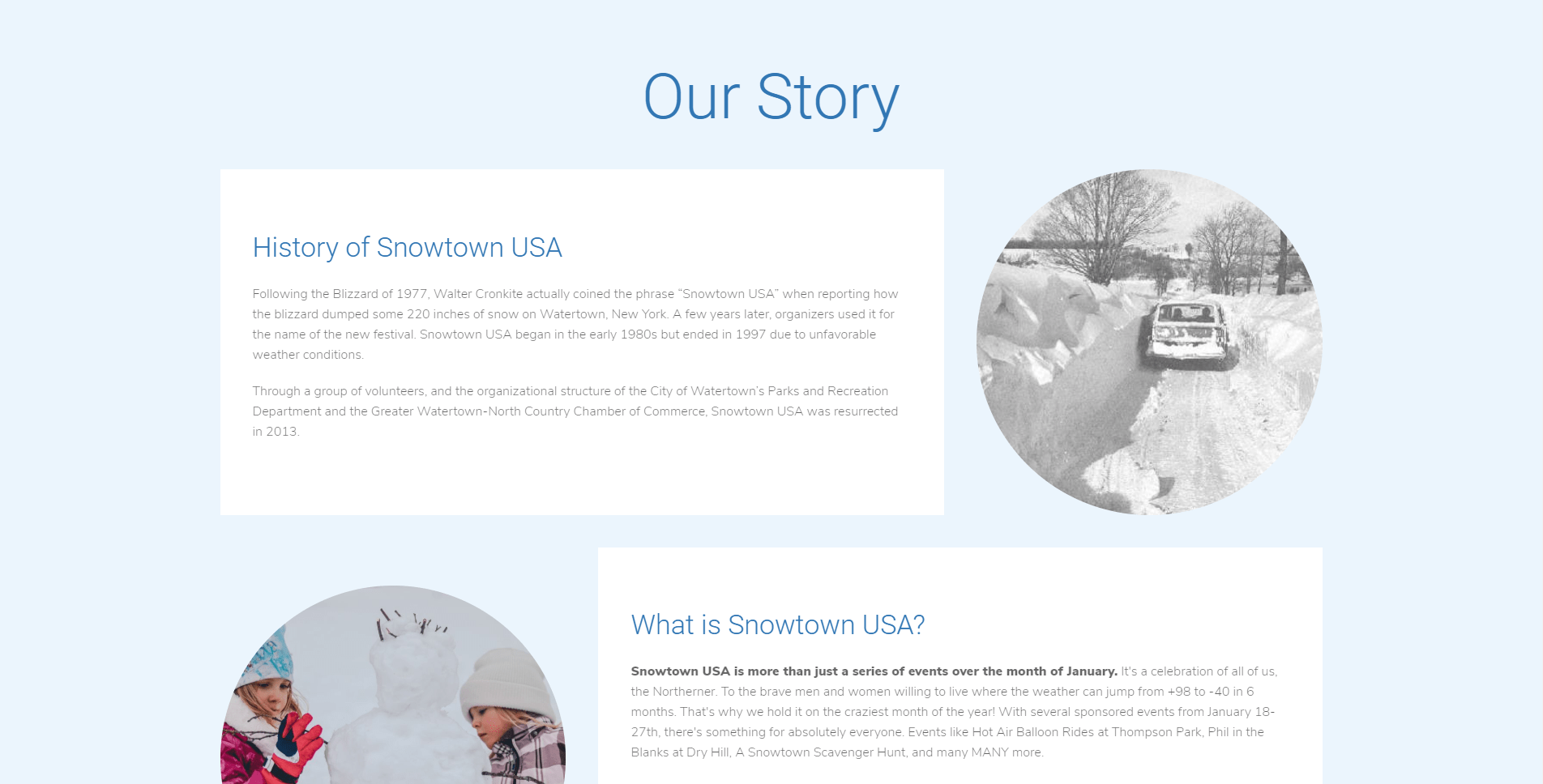 Snowtown USA