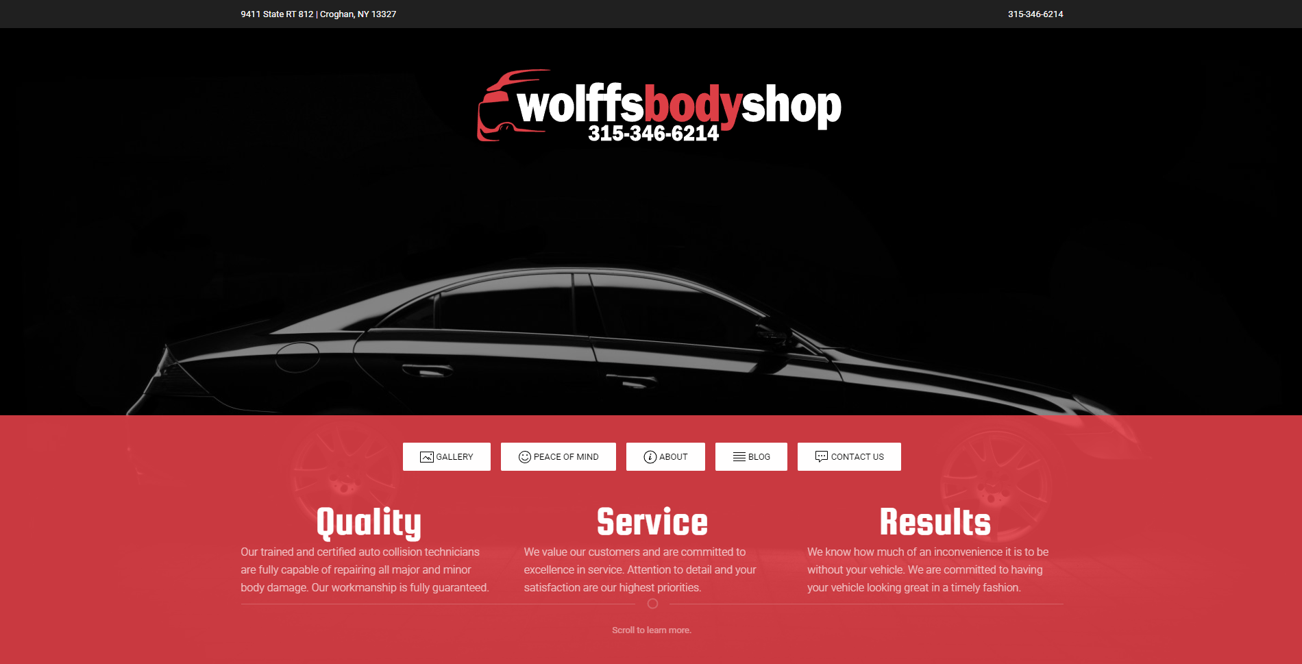 Wolff's Body Shop